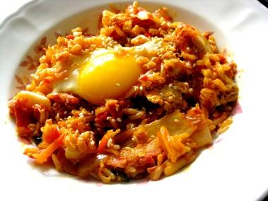 kimchi crack rice