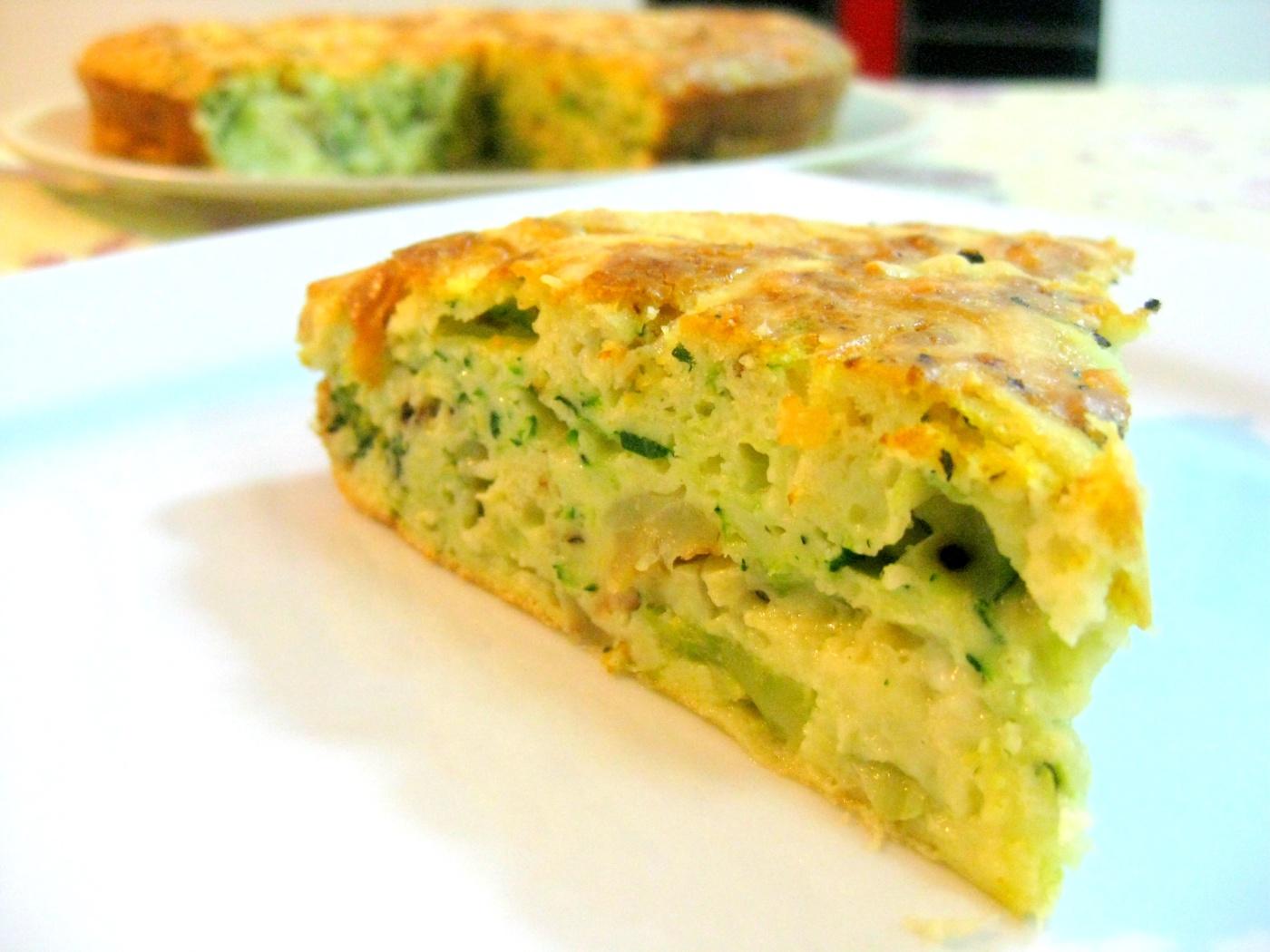 how to make zucchini slice