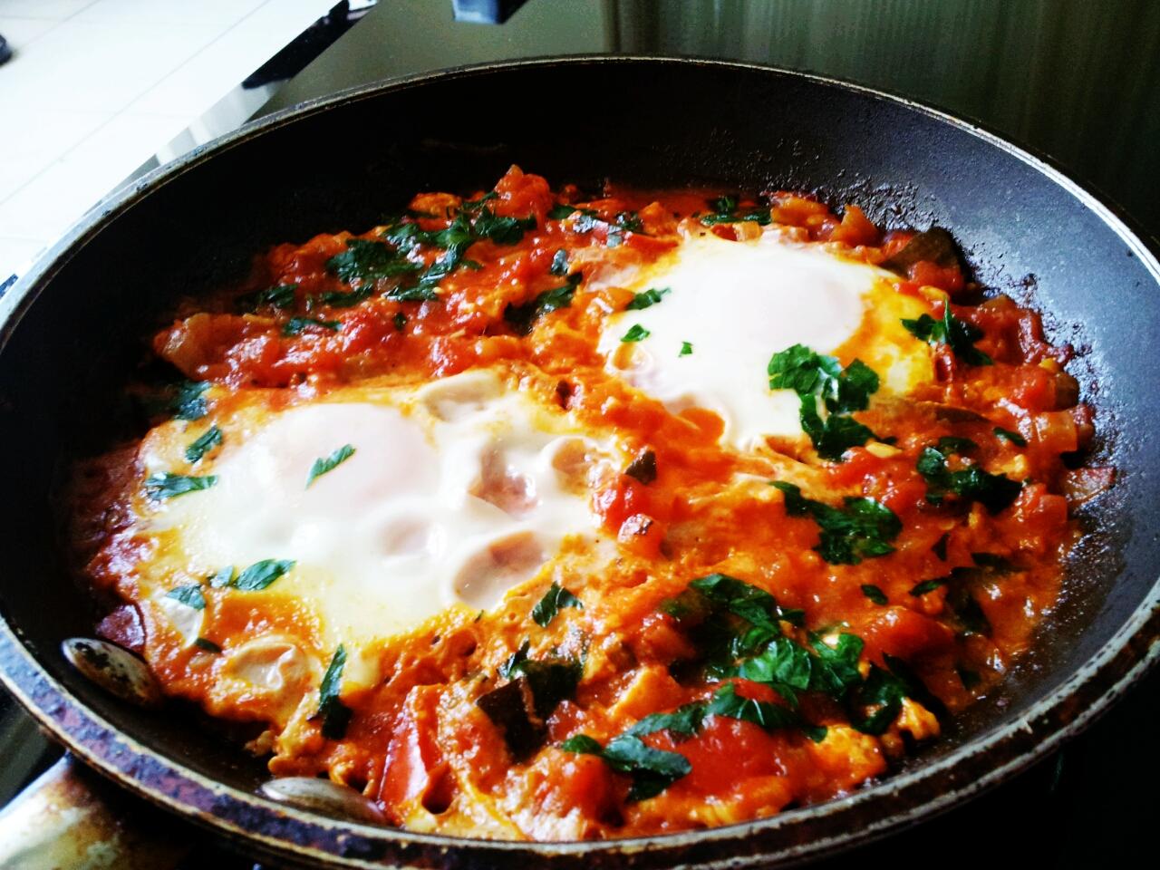 Shakshouka: The Breakfast of Champions | Kelly Siew Cooks