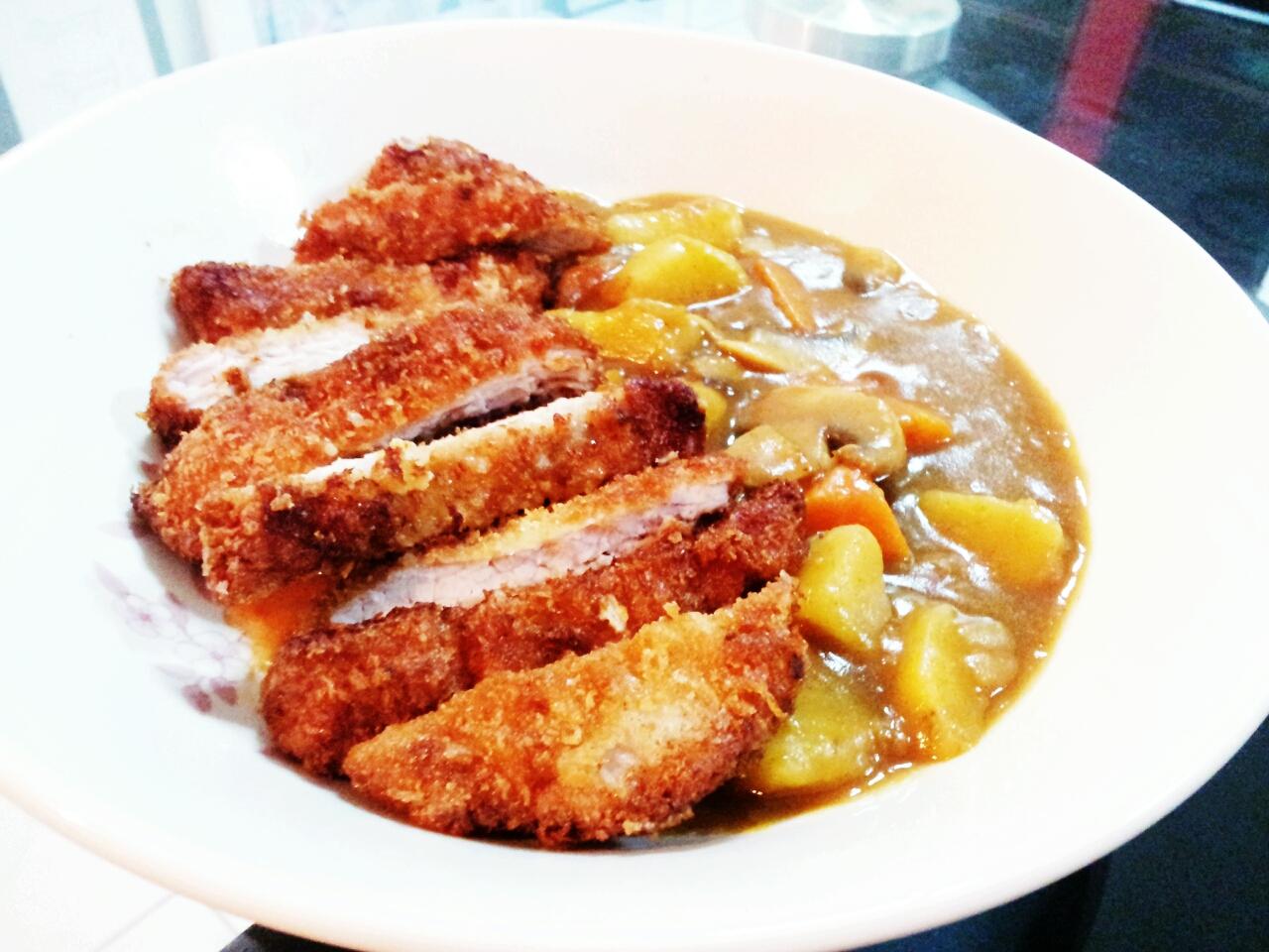 Tonkatsu Curry | Kelly Siew Cooks