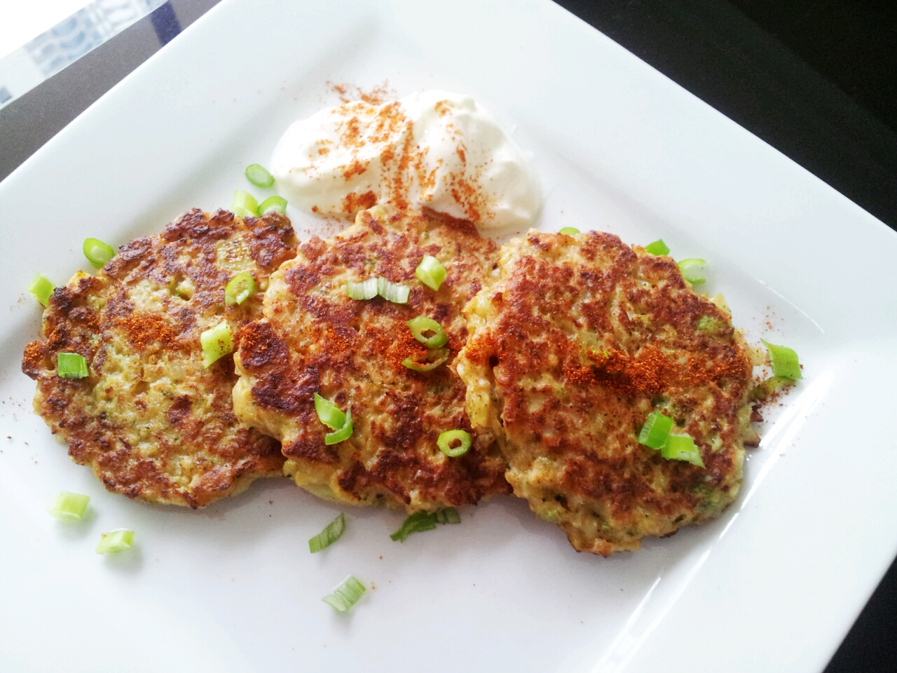 fritters corn fritters cauliflower fritters with cauliflower fritters ...