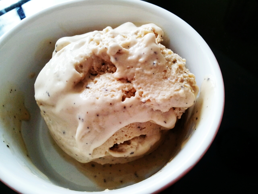 Earl Grey Vanilla Ice Cream