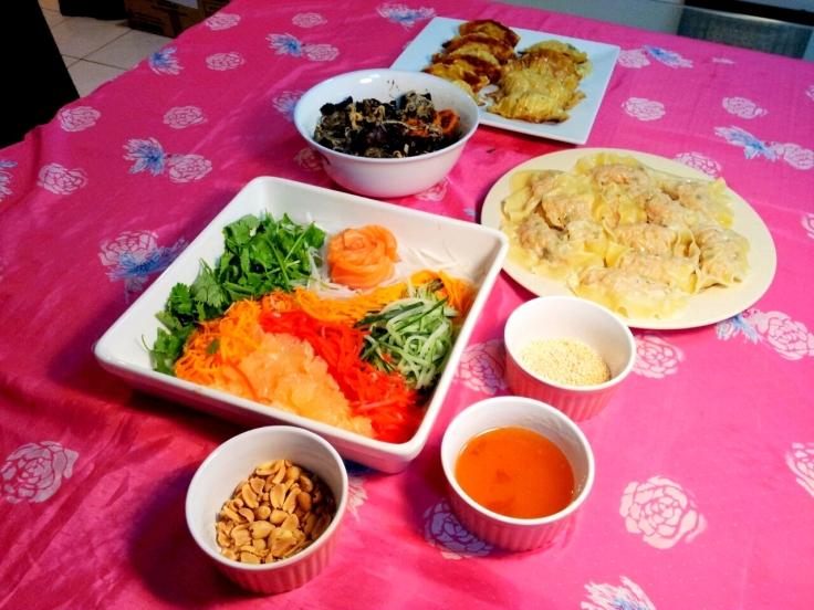 Chap Goh Meh Dinner Spread