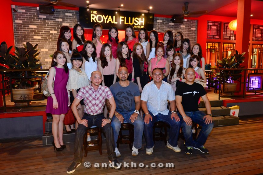 Malaysia's Hottest Bloggers with The Royal Baldies!
