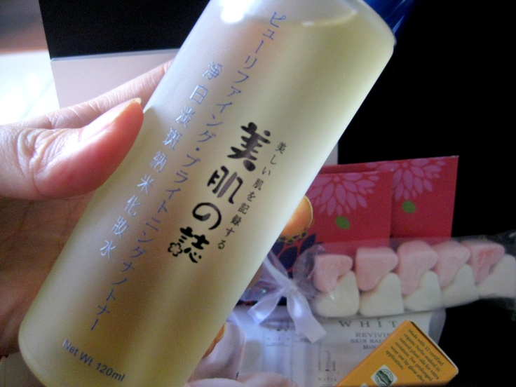 Beautymate Purifying and Brightening Nano Toner.