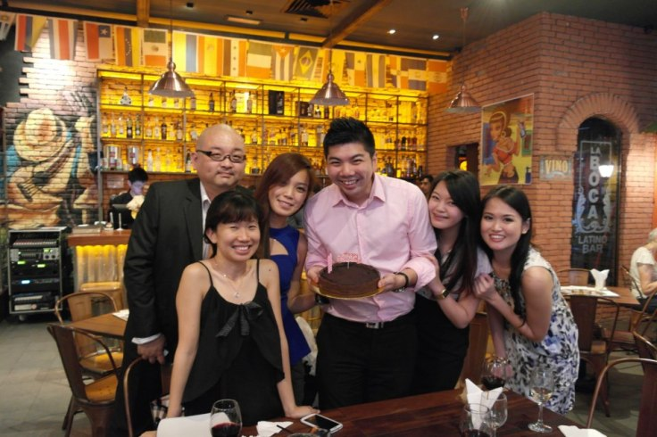 Happy Birthday again Bok and Louise!