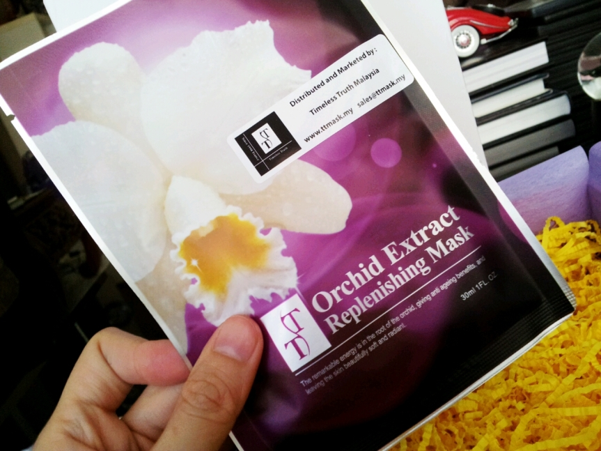 Timeless Truth Orchid Extract Whitening Mask