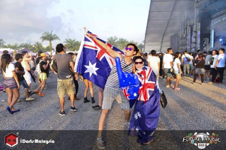 Aussie Aussie Aussie! Oi Oi Oi!