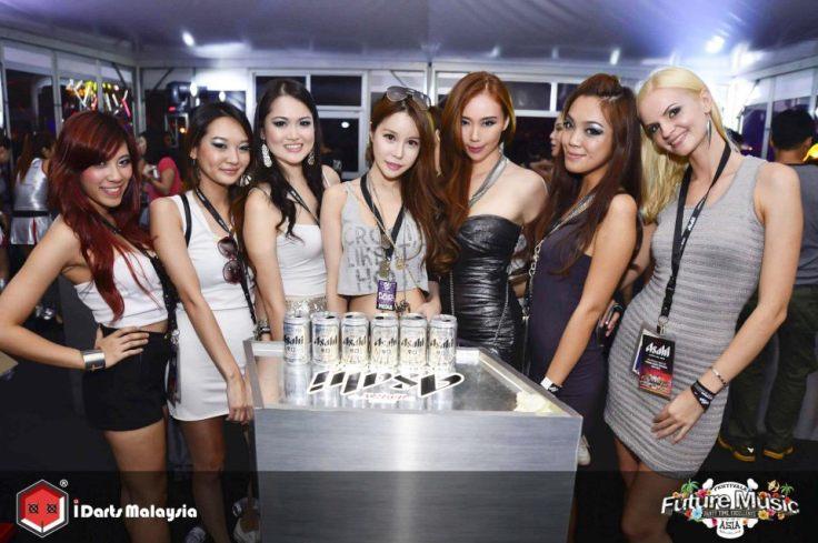 Asahi Party Girls with Dawn Yang