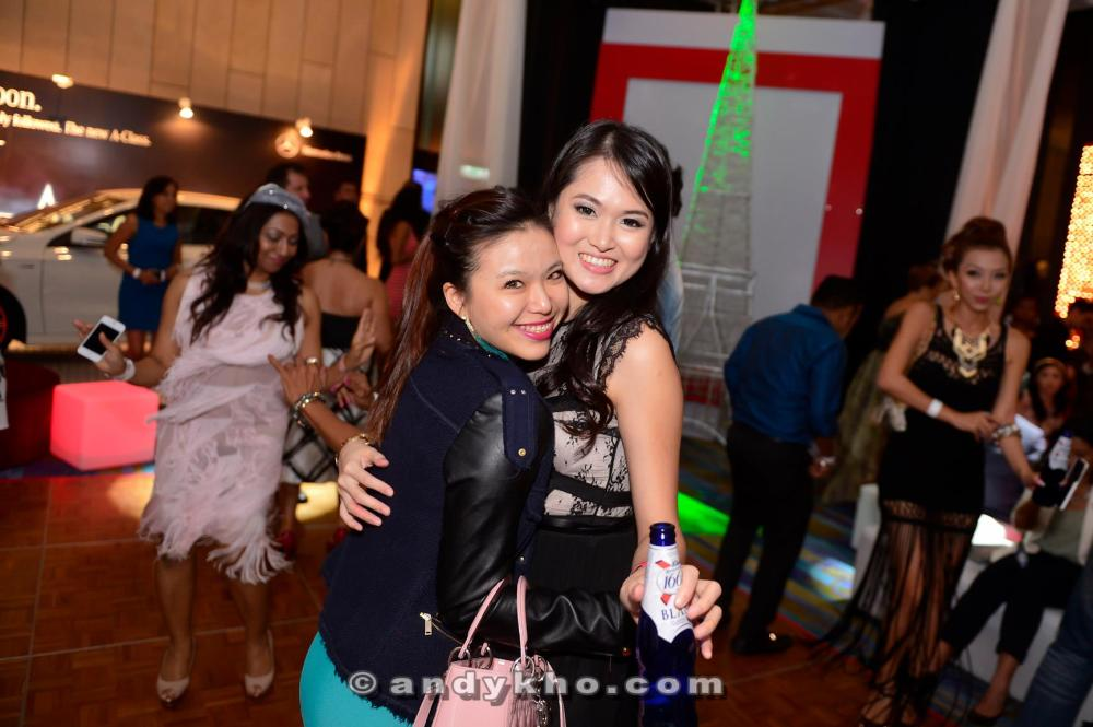 Working the dance floor with Melissa Yang