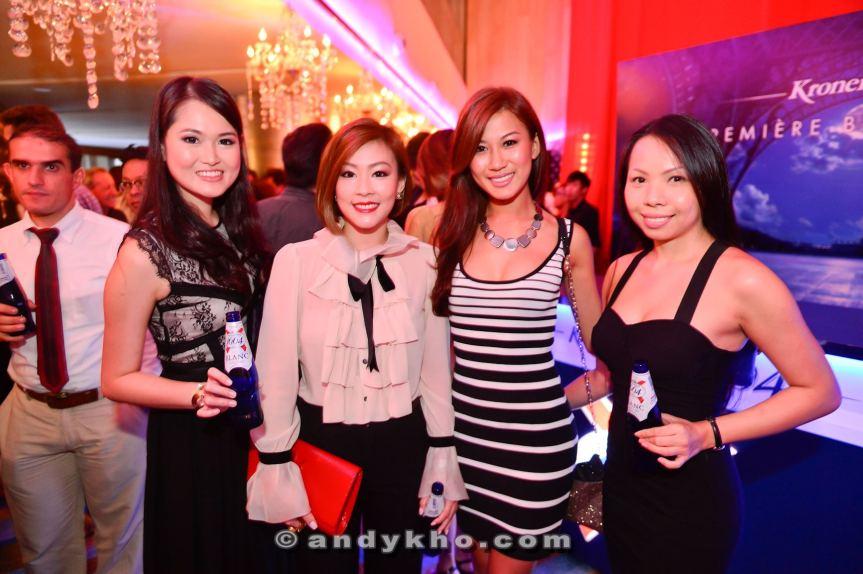Monochrome ladies.