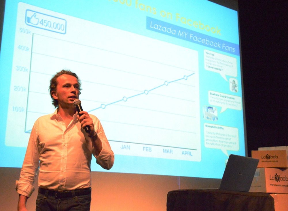 Lazada - Igor, CEO of Lazada Malaysia