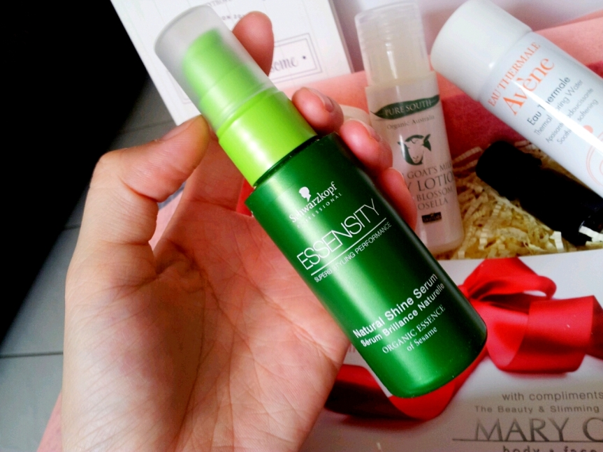 Schwarzkopf Essensity Natural Shine Serum (RM56 for 50ml)