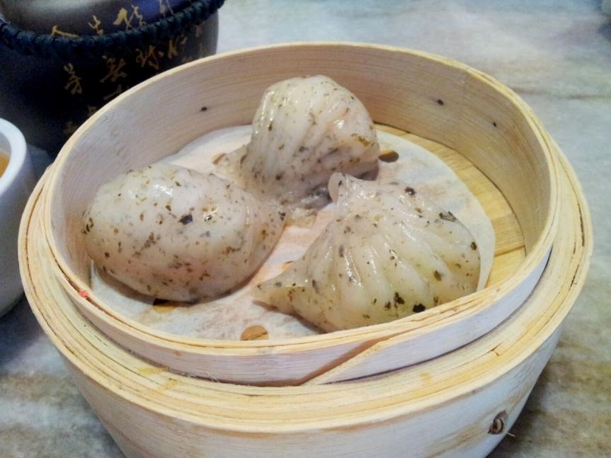 Leopard Skin Prawn Dumpling (Har Kau) 斑点虾饺皇
