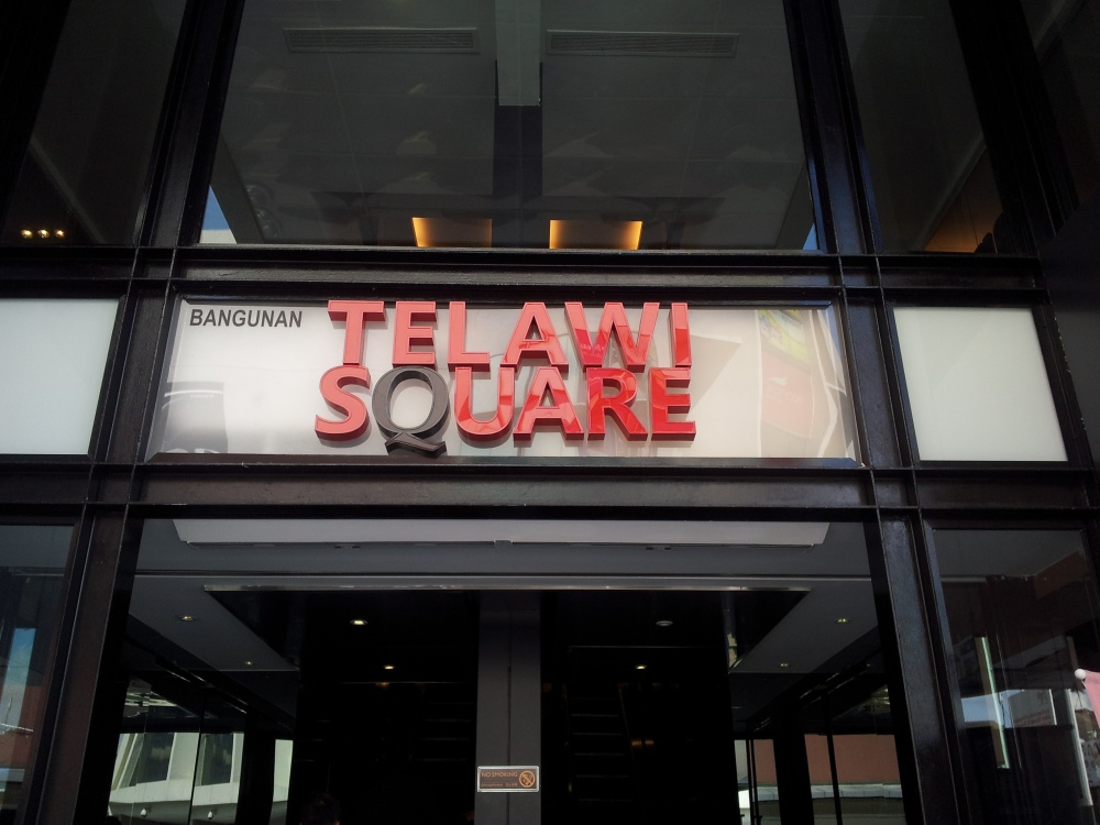 New Telawi Square where The Cutler is located