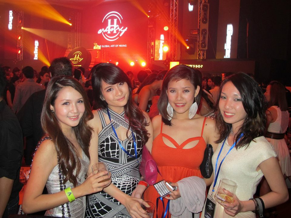 MHB girls at the last Hennessy Artistry Penang.