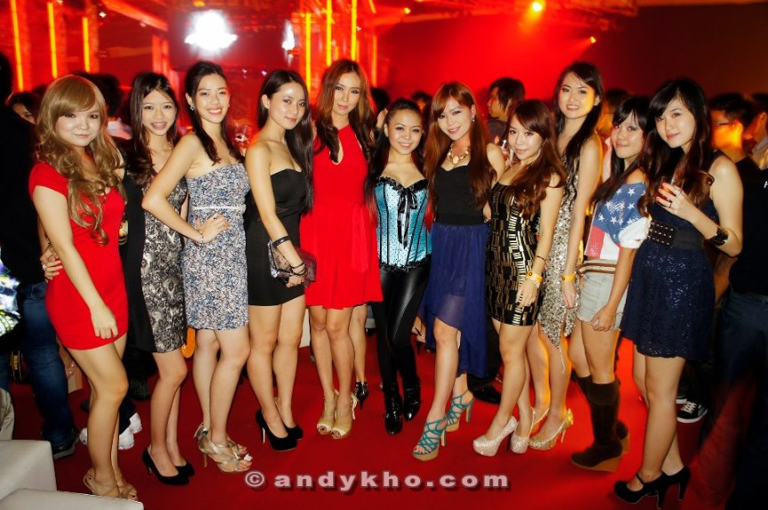 MHB Girls at the most recent Hennessy Artistry, MIECC.