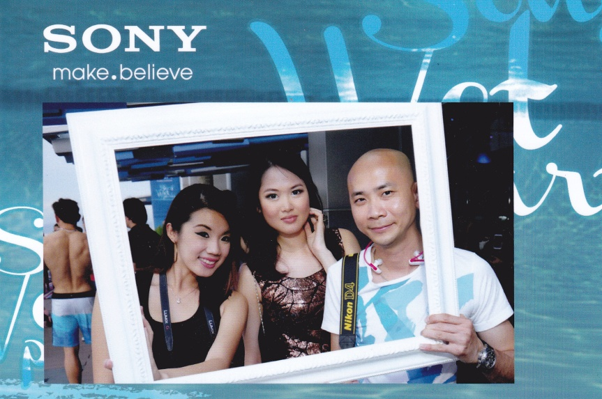 With MHB's Jiayeen and Andy Kho.