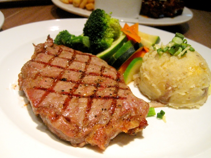 New York Strip (RM51.90) which comes with 2 sides.
