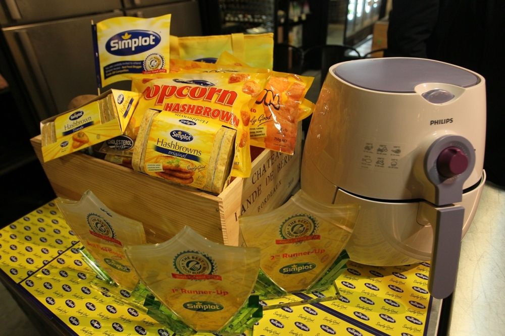 Simplot products and Philips AirFryer