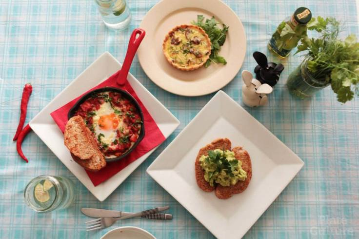 Weekend Brunch dishes