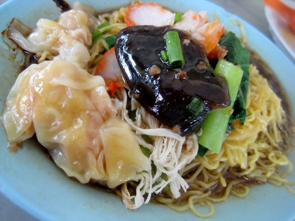 Wanton Mee, also called Tok Tok Mee locally.