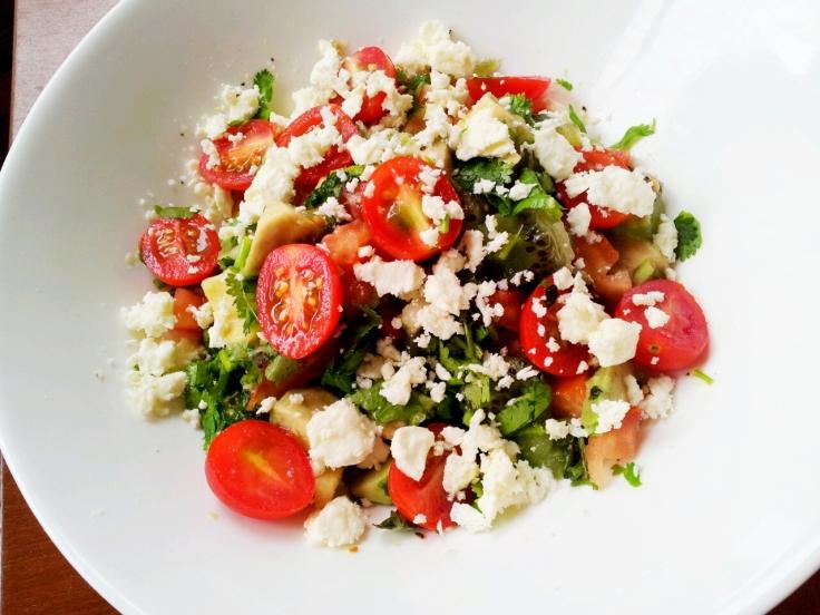Easiest salad ever.
