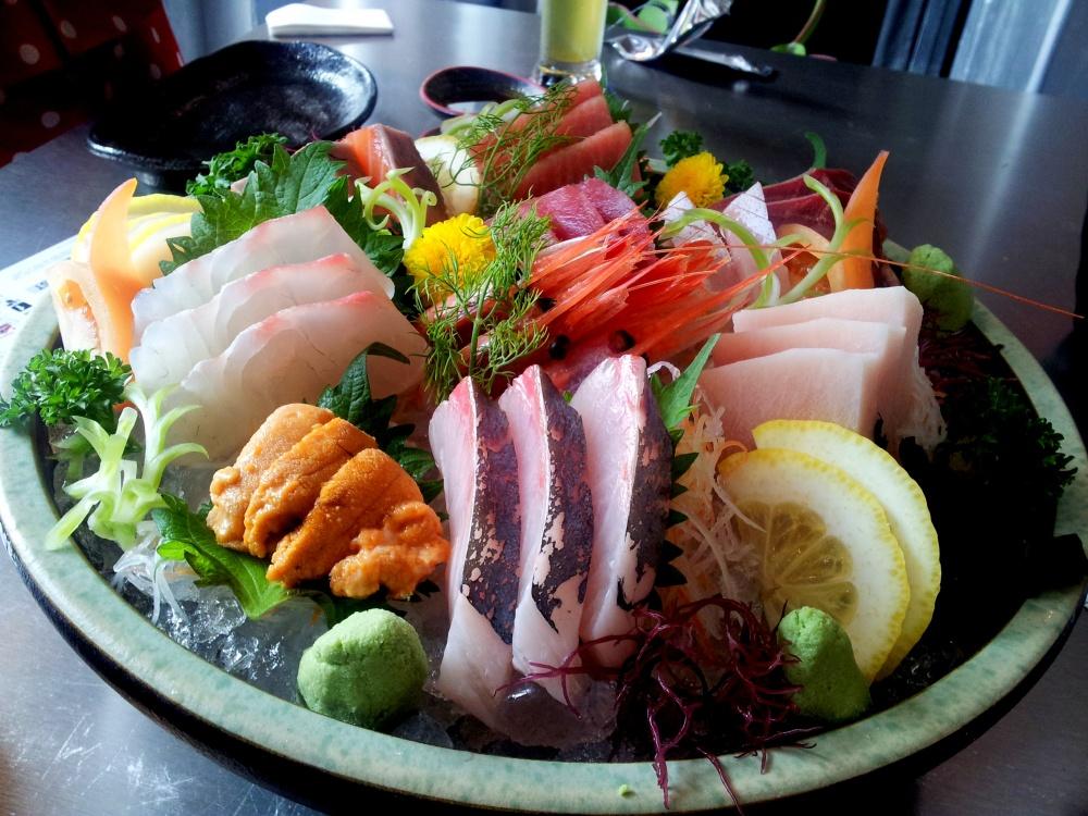 Large Sashimi Platter SGD99