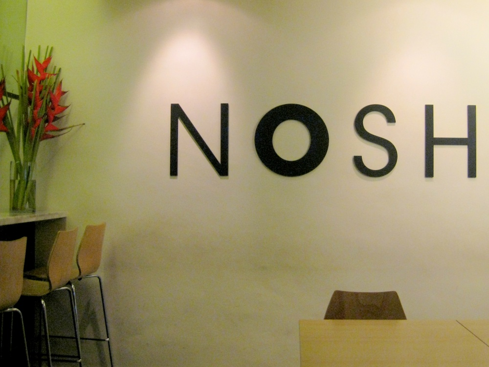 Will you nosh with me?