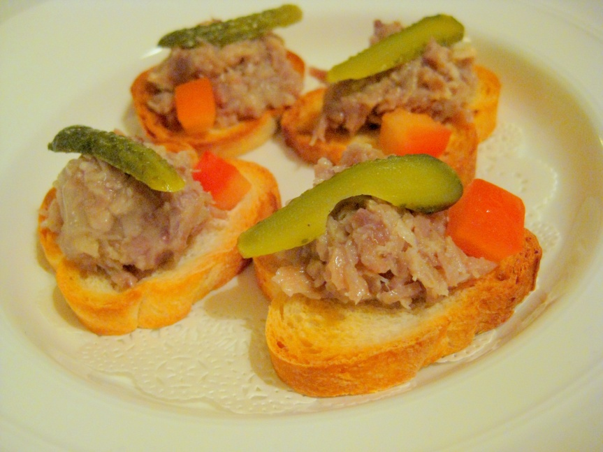 Amuse Bouche: Duck Rillette