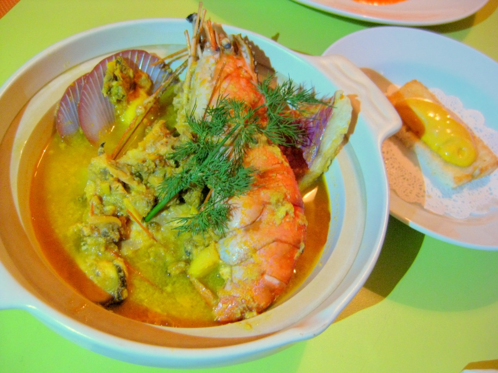 Bouillabaisse 'Croisette Style' with Prawn Bisque