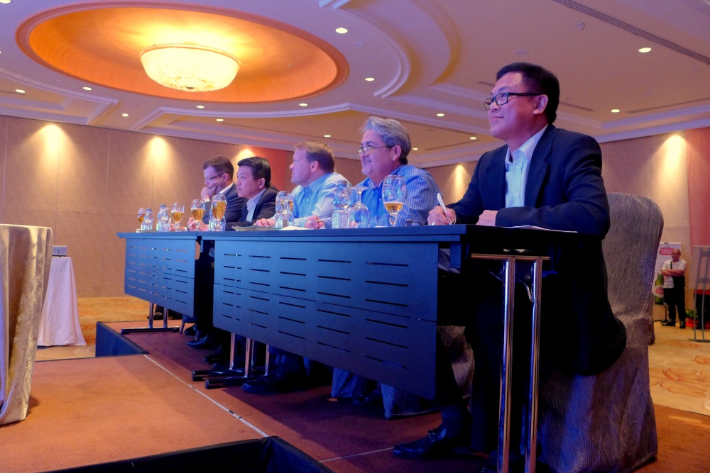 Judges: Henrik Andersen, Managing Director, Carlsberg Malaysia, Kristian Dahl, Supply Director, Carlsberg Malaysia, Philip Tan, Regional Director for South Asia, AB-InBev International and Edward Arthur Holloway, Senior Vice President of Hotel Operations, Genting Malaysia Berhad.
