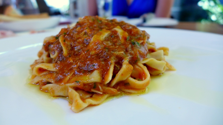 Stewed Meat alla Napule with Homemade Tagliatelle