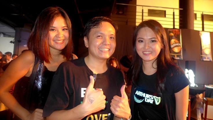 With Cutie Mynn Lee and Simon Seow