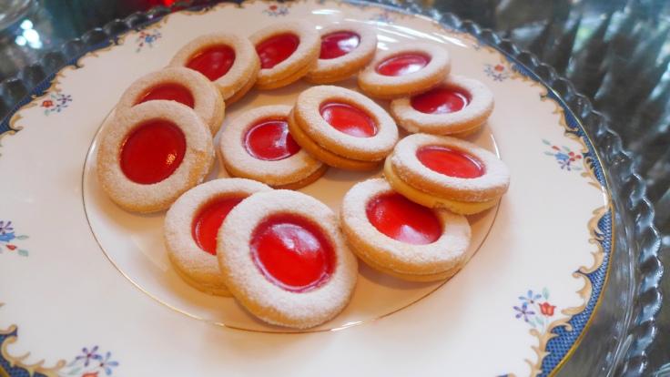"""""""Batu Seremban"""" Ox-Eye Cookies"""