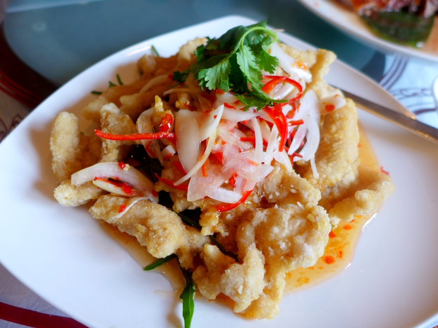 Crispy Fish Fillet served with Thai Sauce
