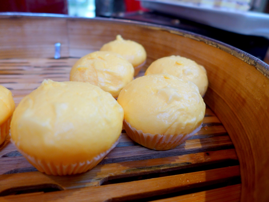 Steamed Custard Buns