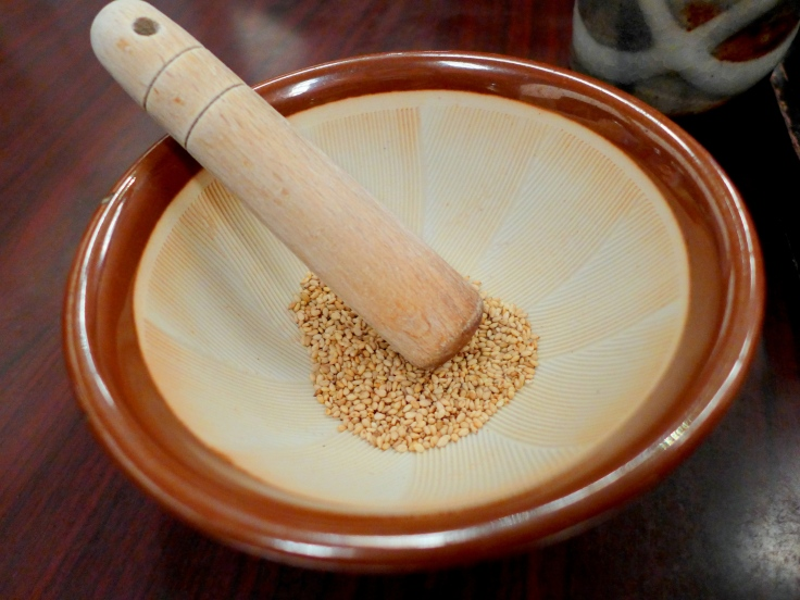 Ground your own Sesame Seeds