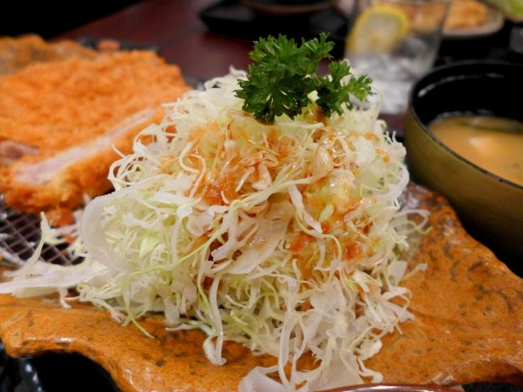 Cabbage salad with Chuka Dressing