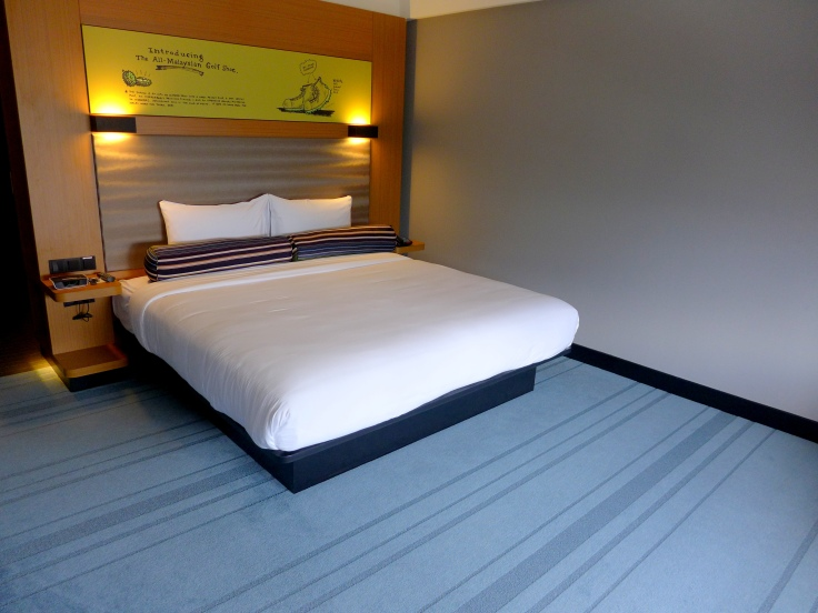 Aloft's signature platform beds