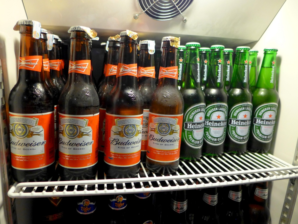 There's more: Budweiser and Heineken