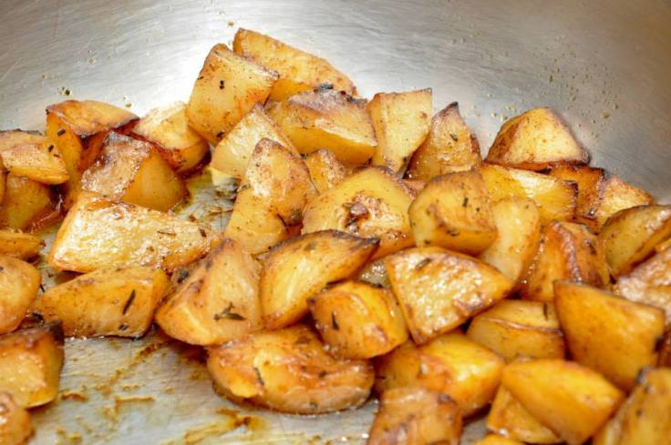 It's not Christmas without some fluffy roast potatoes.