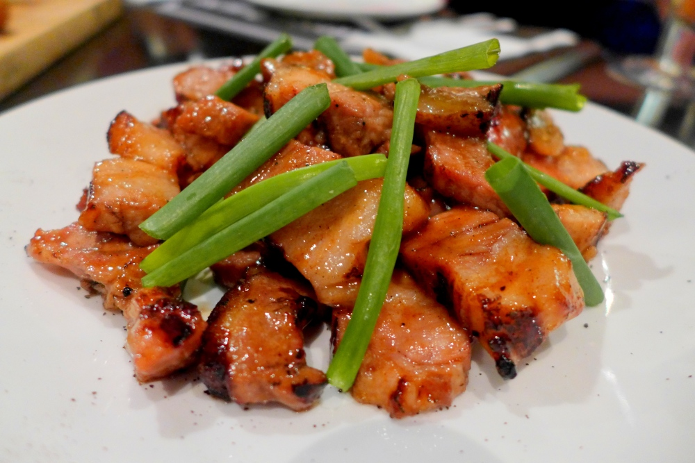 Char-grilled Pork Belly - RM19.50 ++ (this is a double serving)