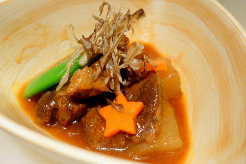"""""""Tenderly"""" Braised Ox Cheek with Special Blended Sauce"""