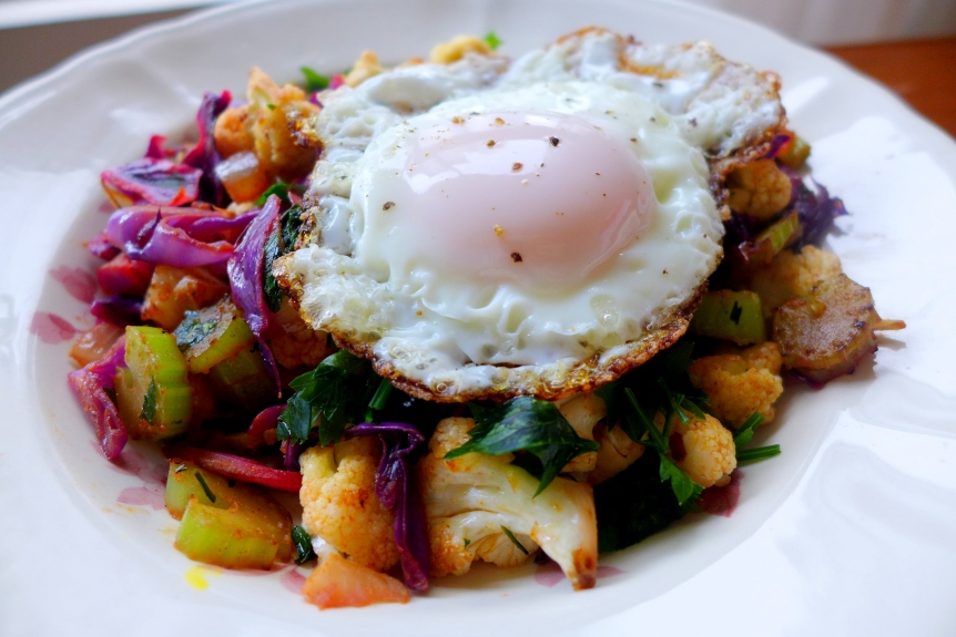 Mixed Vegetables Hash