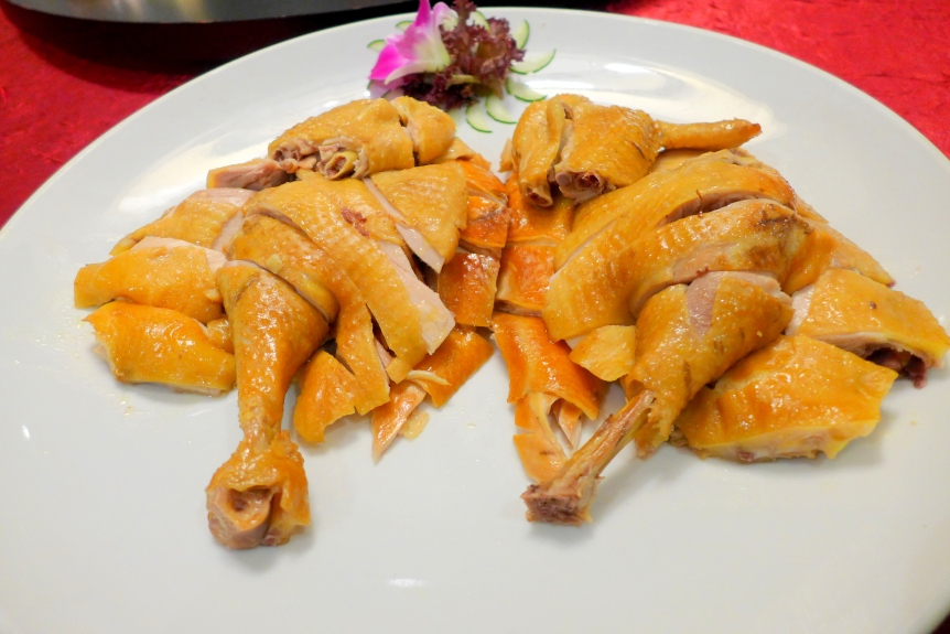 Traditional Chef's Specialty Smoked Farm Chicken (古法烟口水鸡)