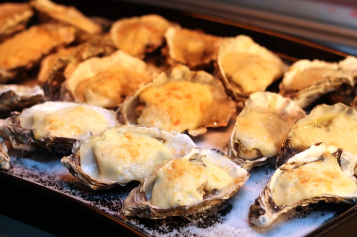 Choice of Tom Yam, Rendang Oyster, Oyster Rrockkafella, Oyster Mushroom