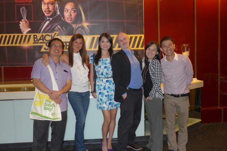 Us with Mr Fatboybakes, Ciki of Cumi&Cuki, Fireangel and KYSpeaks