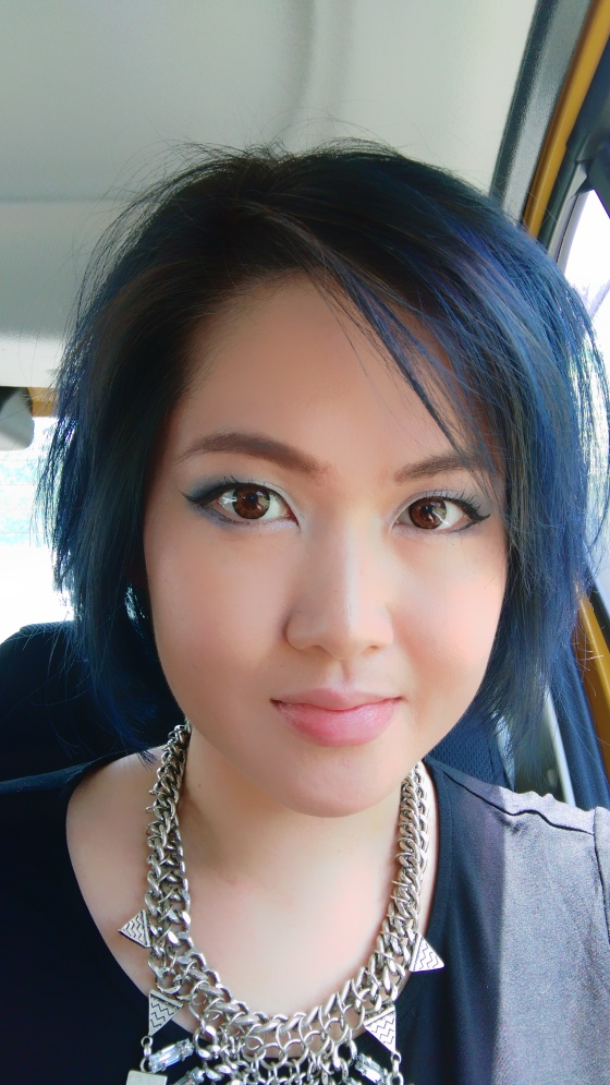 One recent selfie, even complete with Dr Ko's shade of blue!